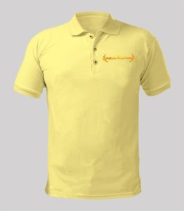 Rise Again Yellow Shirt with Yellow logo Image