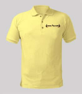 Rise Again Yellow Shirt with black logo Image