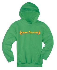 Rise Again Green Hoodie Jacket Image