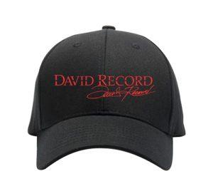 Red logo David Record Hat Image
